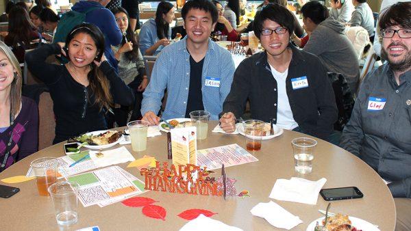 CU Denver Thanksgiving for international students