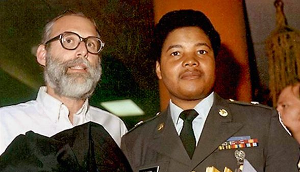 Robert Damrauer and Olester Benson, 1982