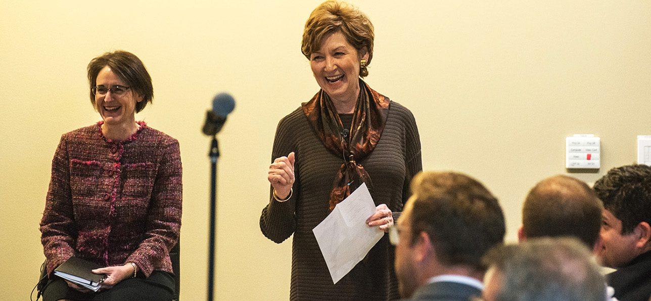 CU Denver Chancellor Dorothy Horrell