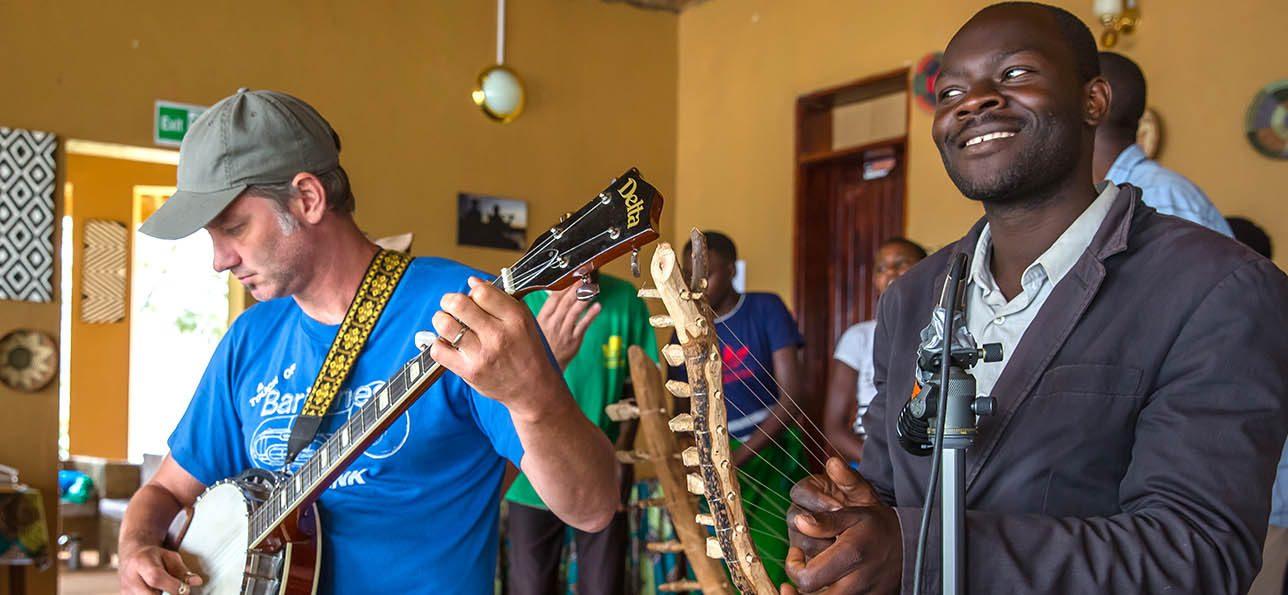 CU Denver student in Uganda