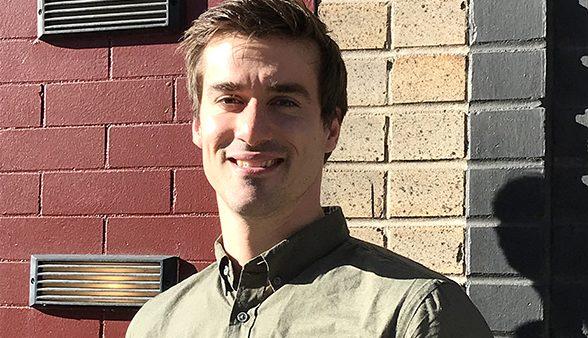 CU Denver graduate Brandon Wiegand