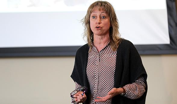 CU Denver professor Timberley Roane