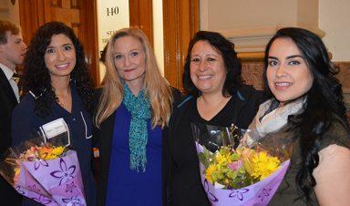 CU Denver Undergrad Awardees and Nicole and Paula