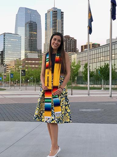 CU Denver student Grecia Portillo