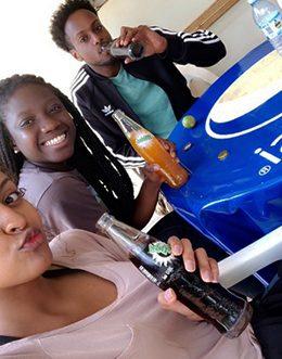 CU students drink sodas