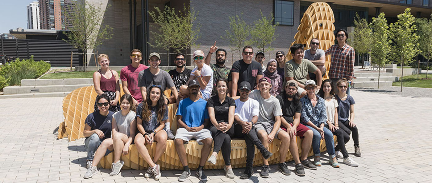 Architecture students create Mobius Lynx