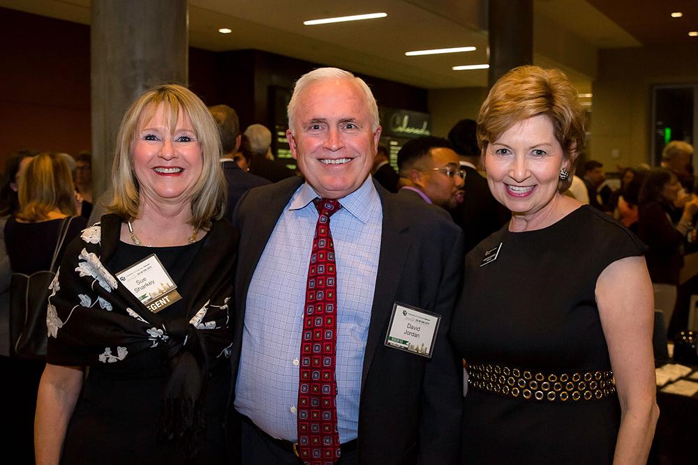 Sue Sharkey, David Jordan, Dorothy Horrell