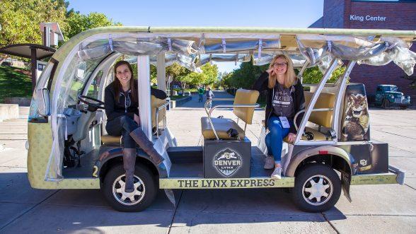 Lynx Express golf cart