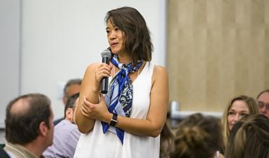 Vivian Shyu talks