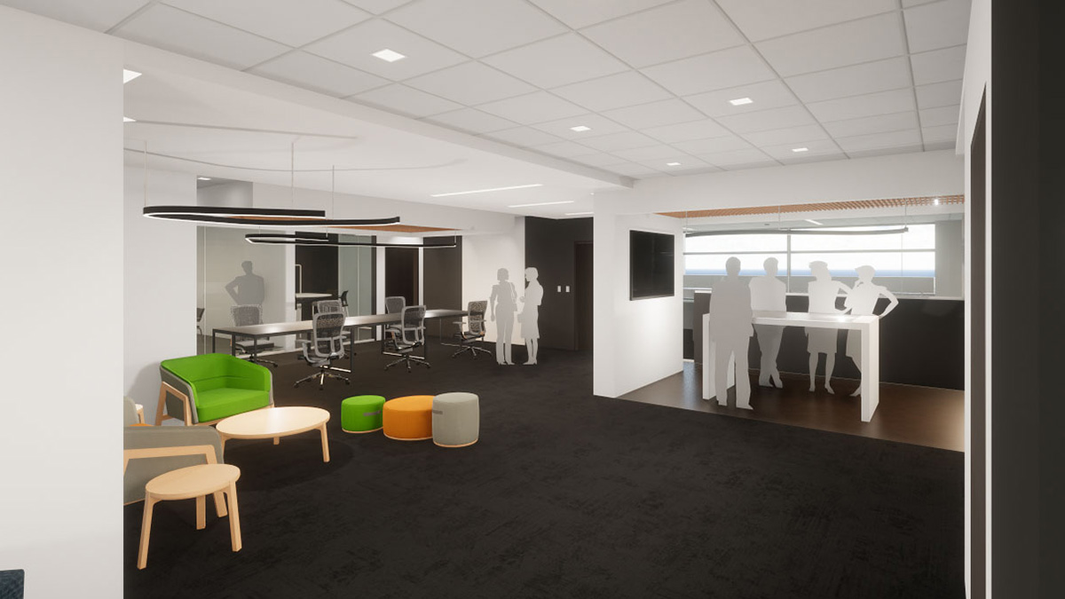 Rendering of incubation space