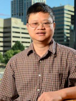 Hai Lin, professor of chemistry