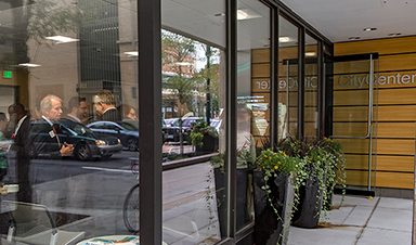 CityCenter front doors
