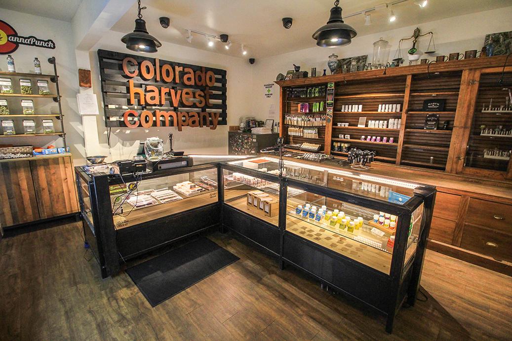 Colorado Harvest Company dispensary counter