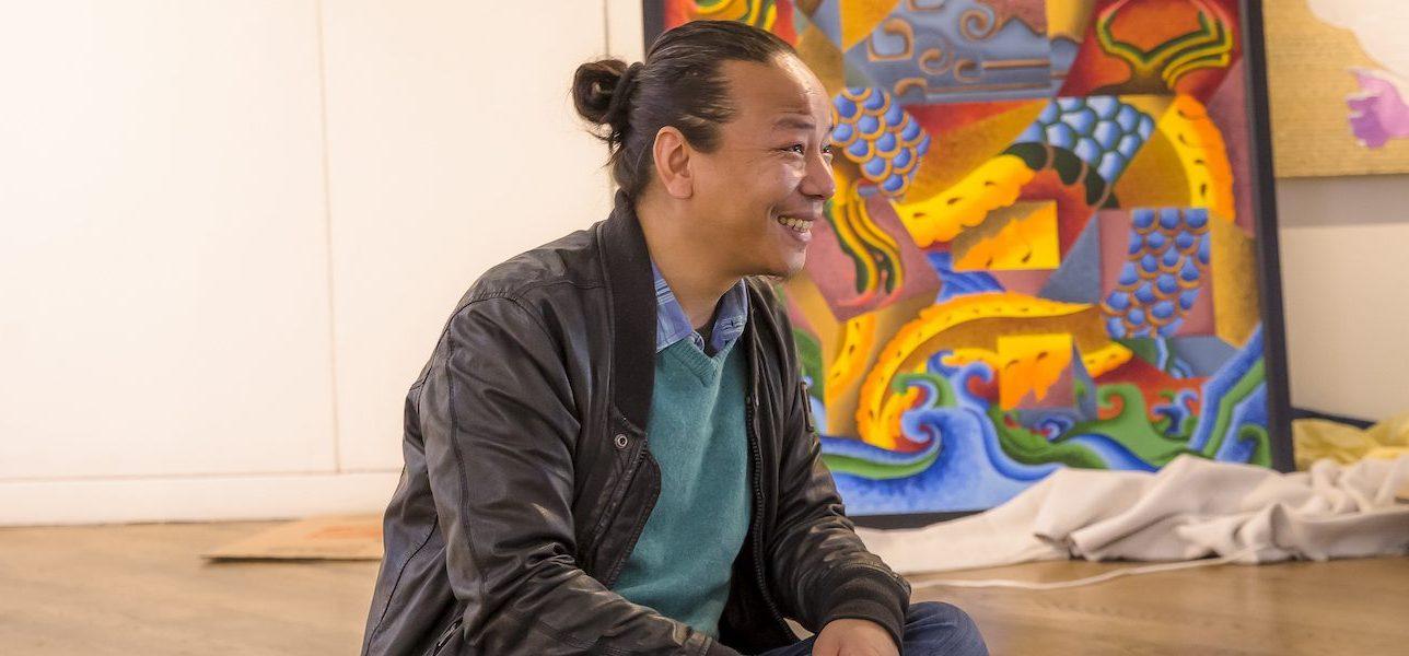 Tenzing Rigdol at CU Denver's Emmanuel Gallery