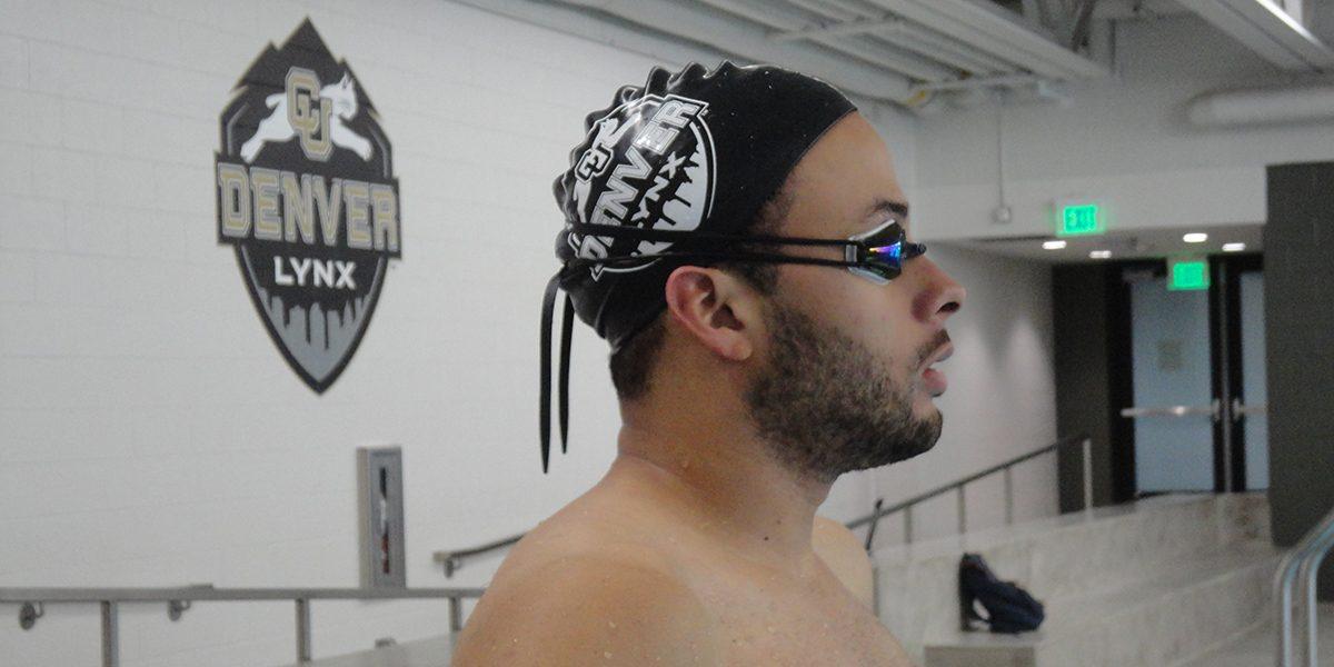 Emeric Renard, student, swimmer