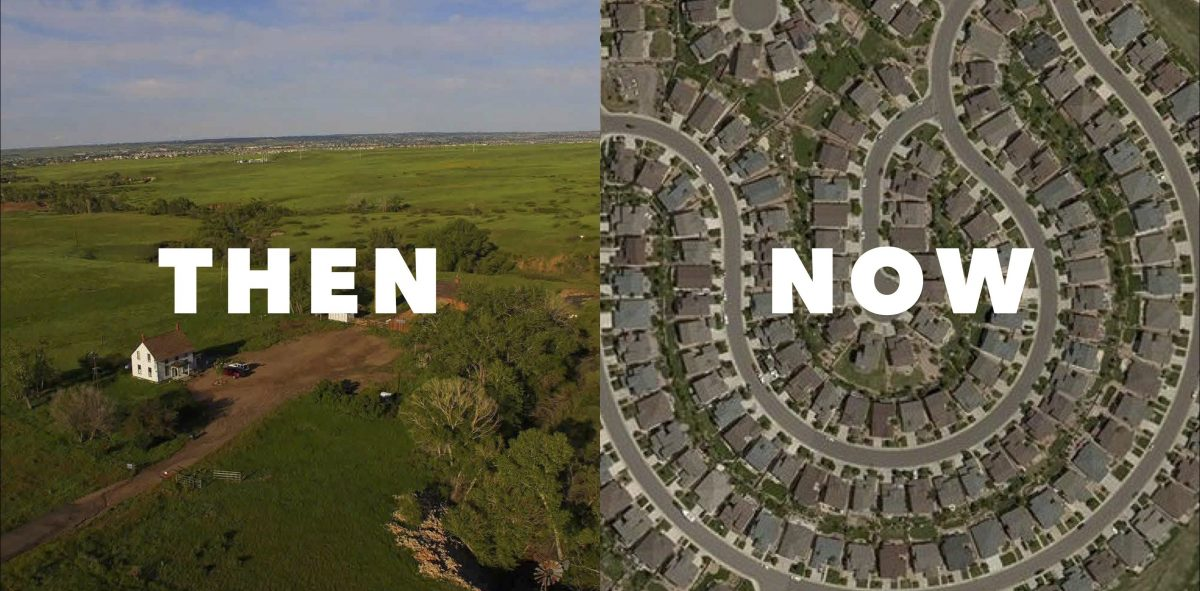 Ranchland before and after