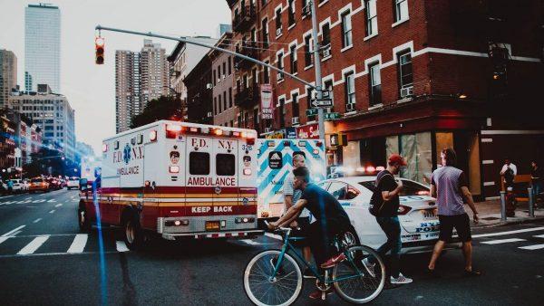 NYFD ambulance