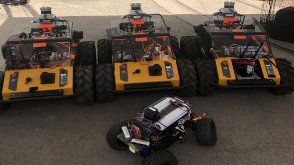 DARPA tunnel circuit robots