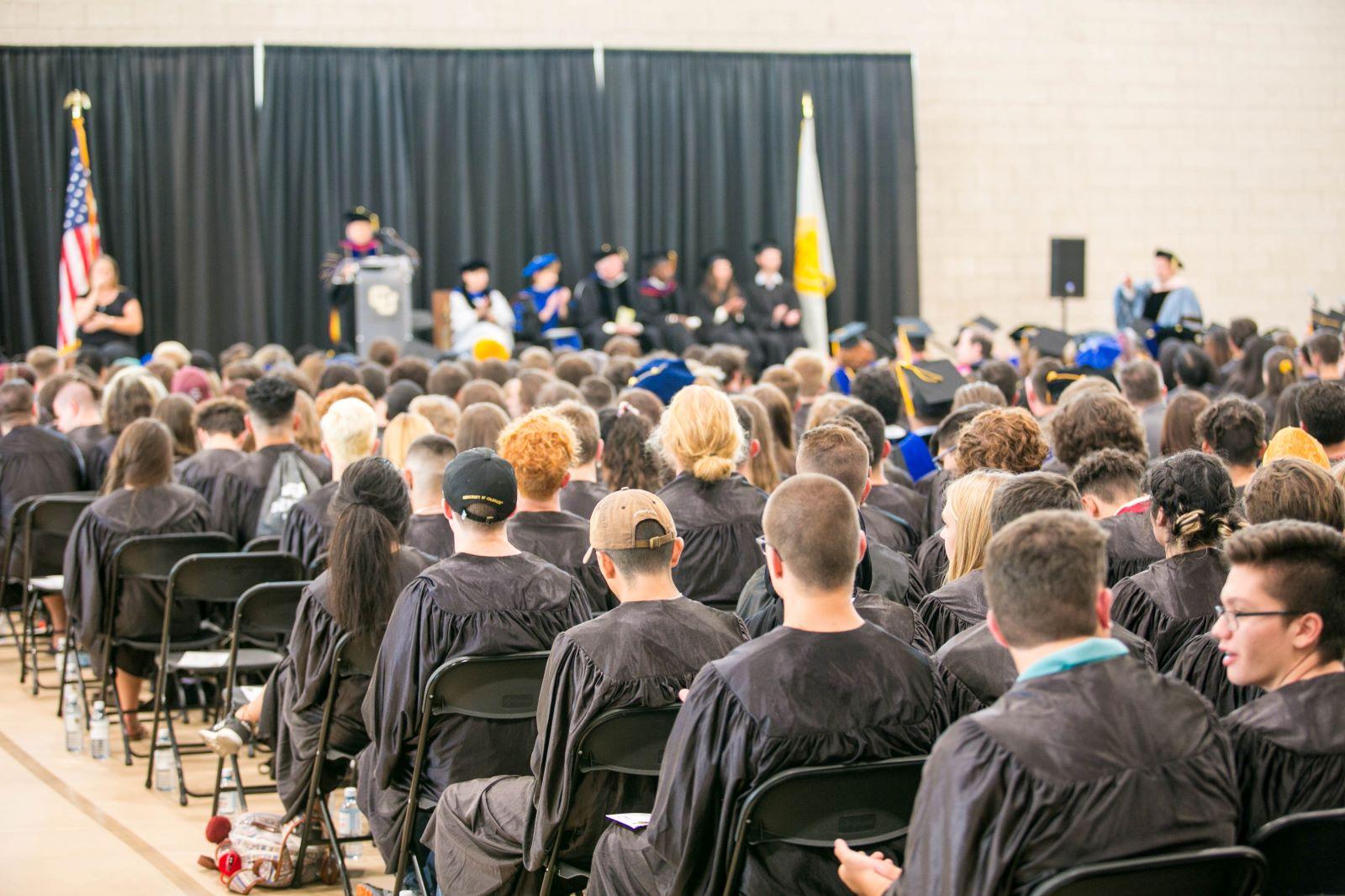 CU Denver convocation ceremony 2019