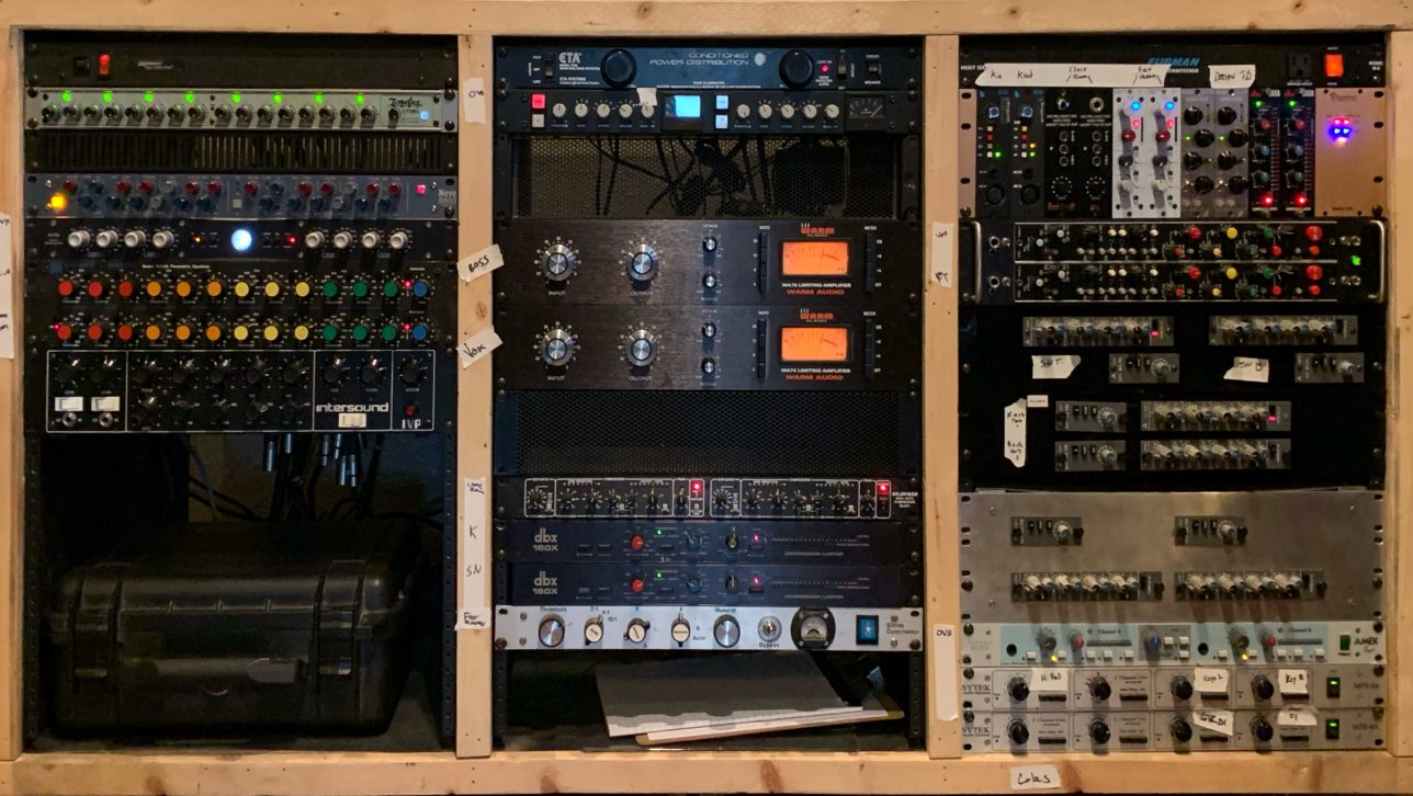 Recording equipment, The Keep Recording in Denver