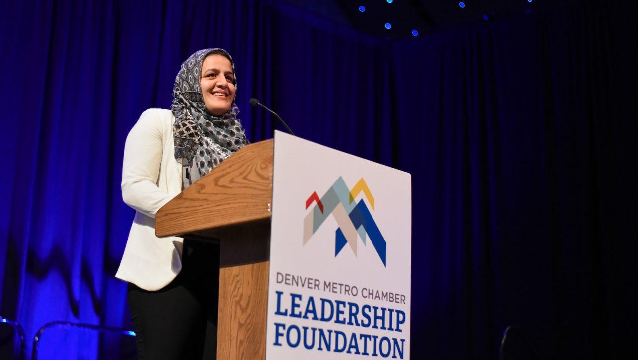 Alumnus Nadeen Ibrahim receives honor