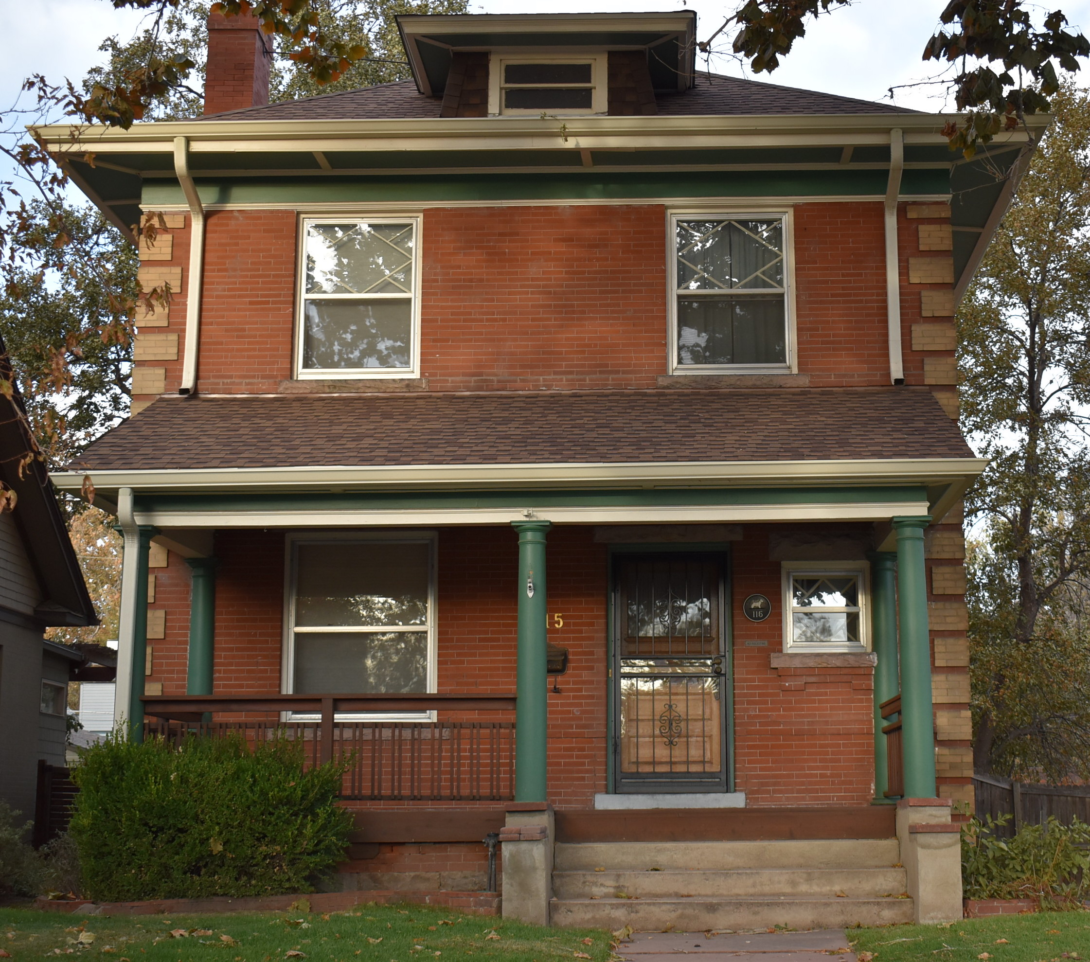 typical Denver Square house