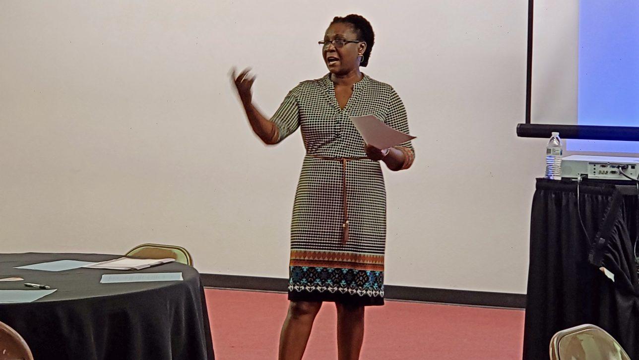 Edith Okupa, Executive Director of Restoration Project International