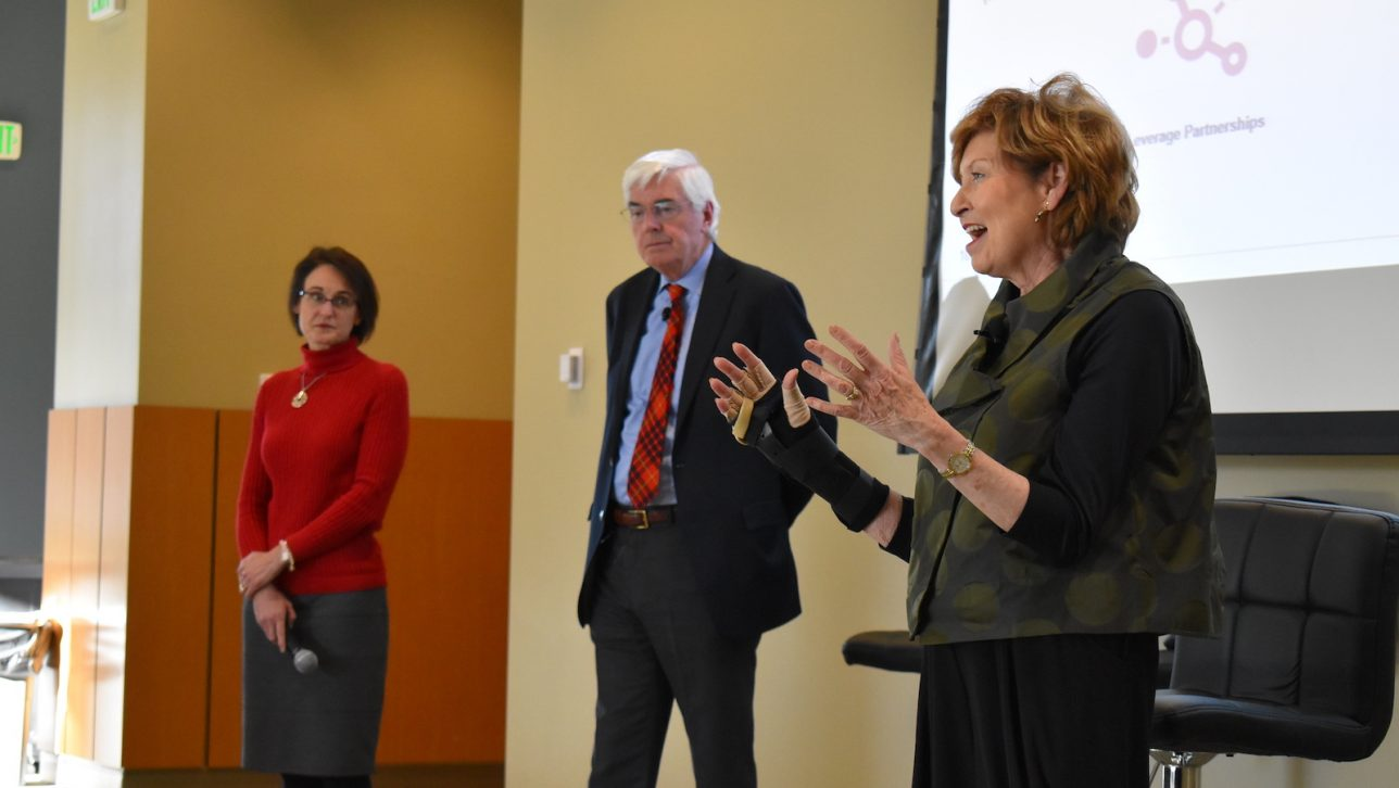 CU Denver leaders present at the Nov. 1 Campus Conversation on budget