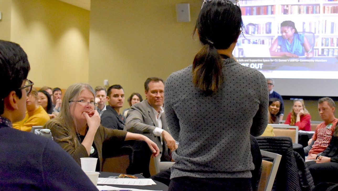 First Diversity Dialogue sheds light on LGTBQ+ community.
