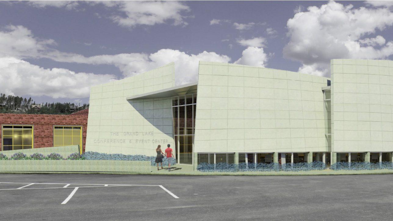 rendering of Grand Lake Community Center