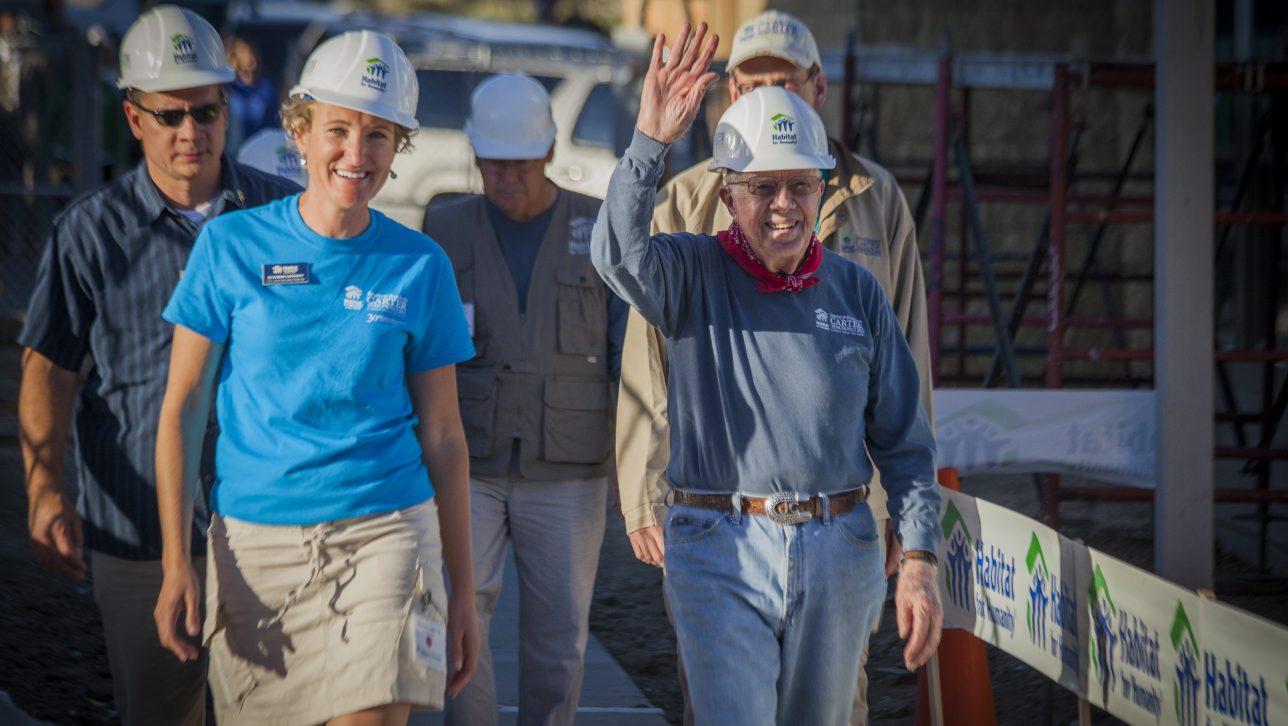 Heather Lafferty and Jimmy Carter