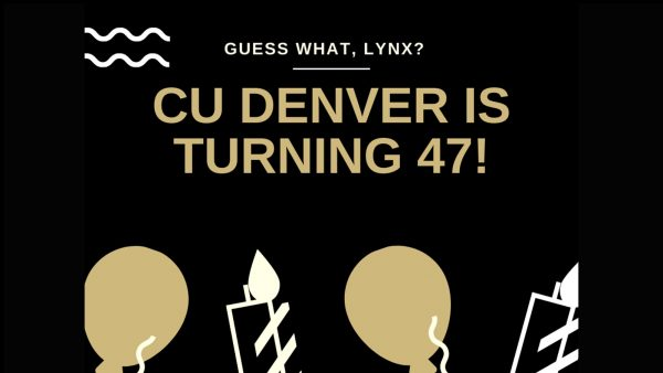 CU Denver 47th birthday graphic