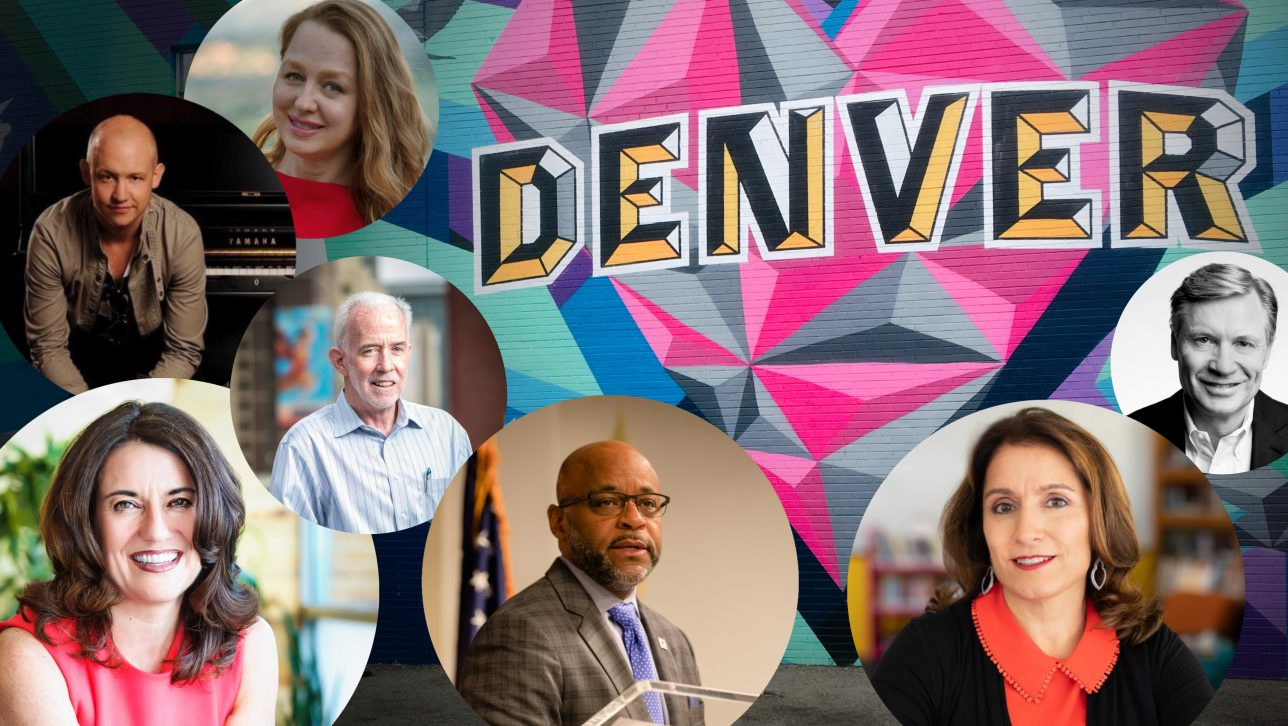 Denver leaders collage