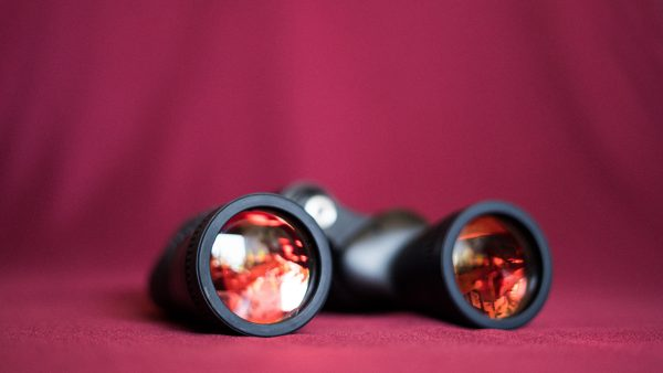 binoculars; photo by Kelli McClintock via Unsplash
