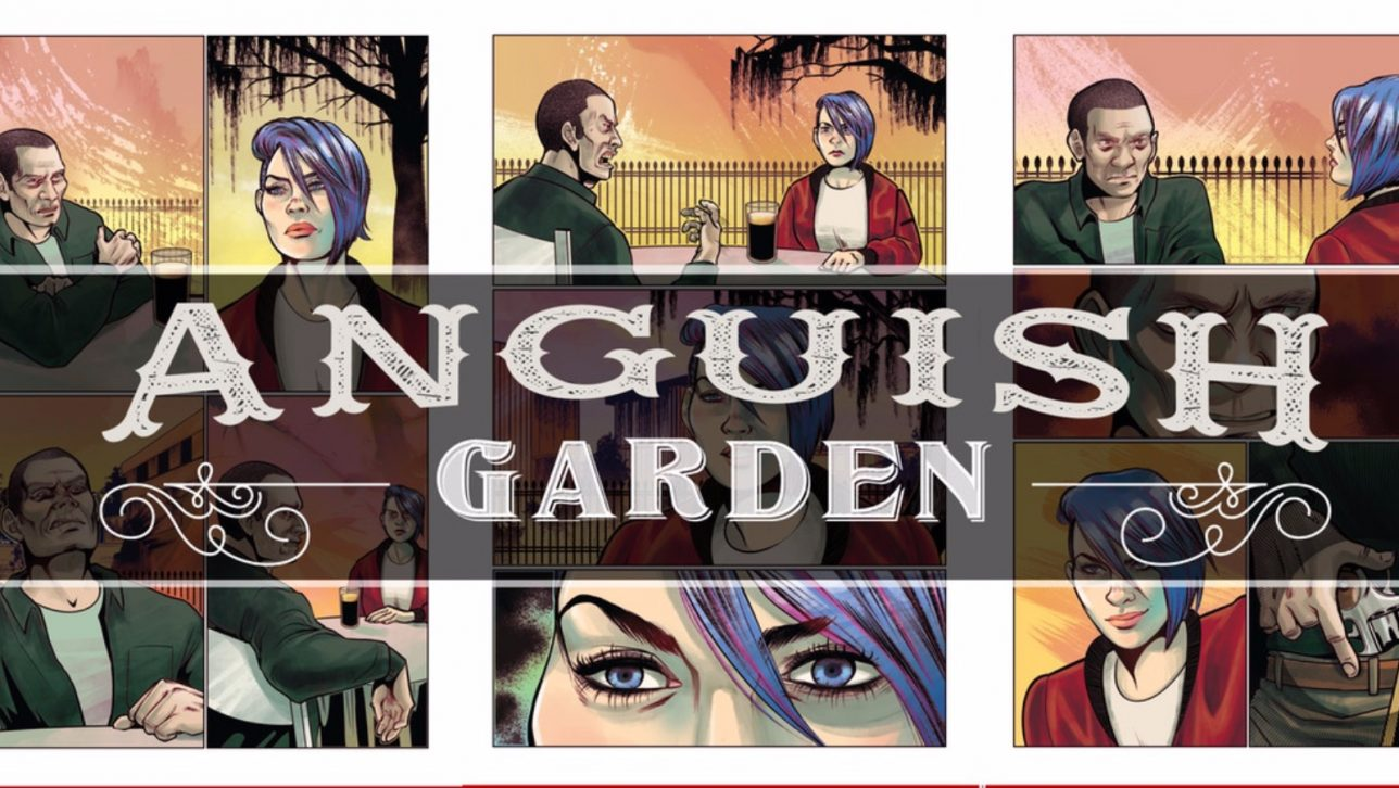Anguish Garden by R. Alan Brooks