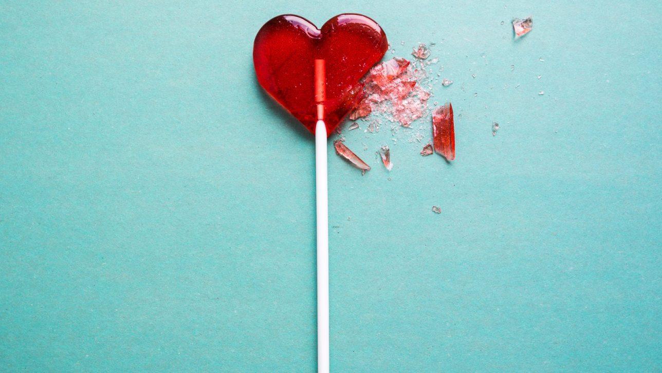 broken lollipop