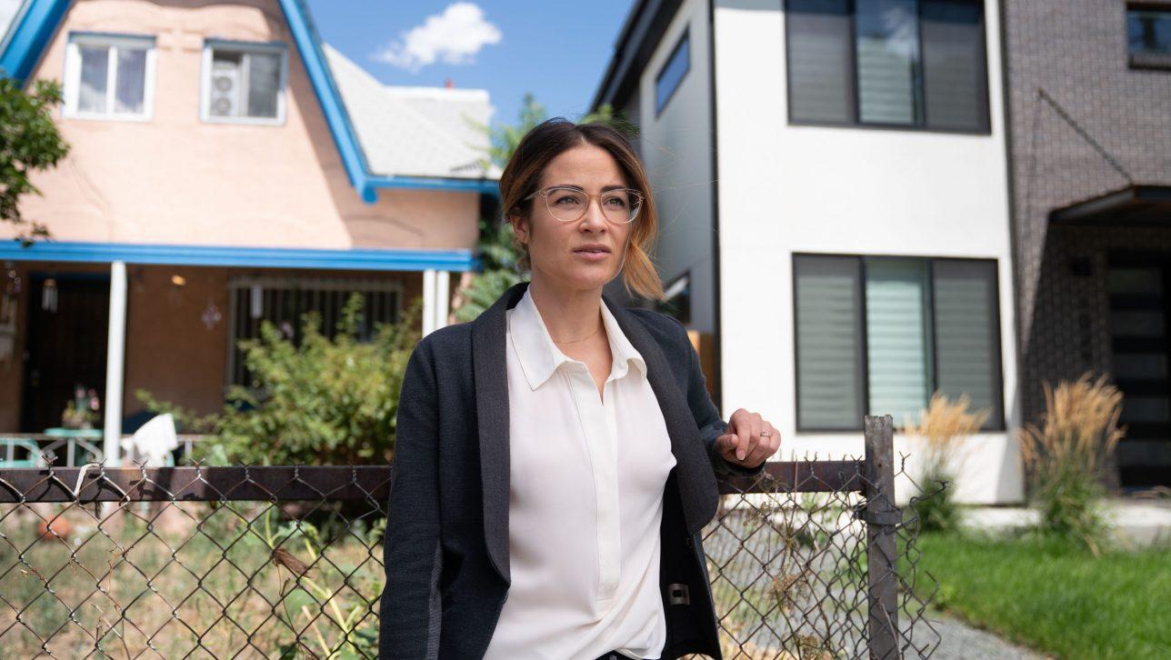 Professor Esther Sullivan in a gentrified neighborhood