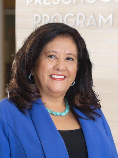 Elsa Holguin, president of the Denver Preschool Program