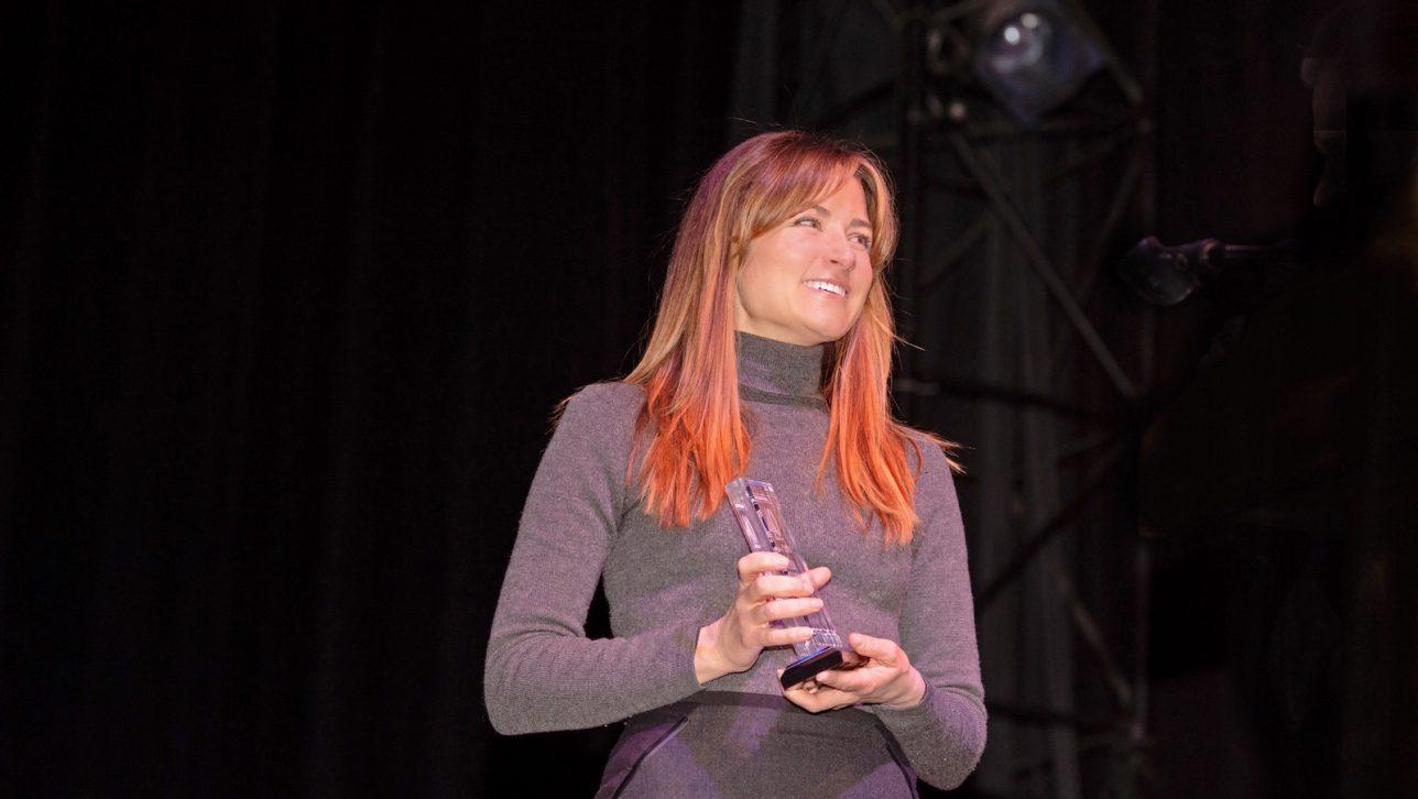 Professor Esther Sullivan receives DBJ's 40 Under 40 award
