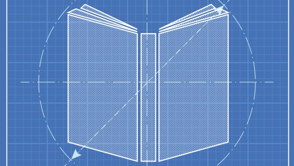 blueprint of book