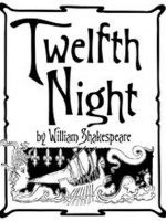 Twelfth Night by William Shakespeare book cover