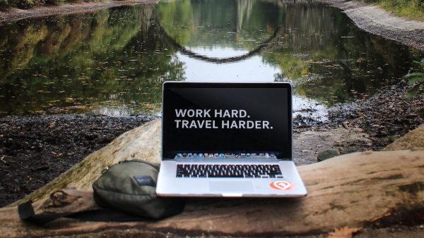 Work Hard Travel Harder by Manny Pantoja