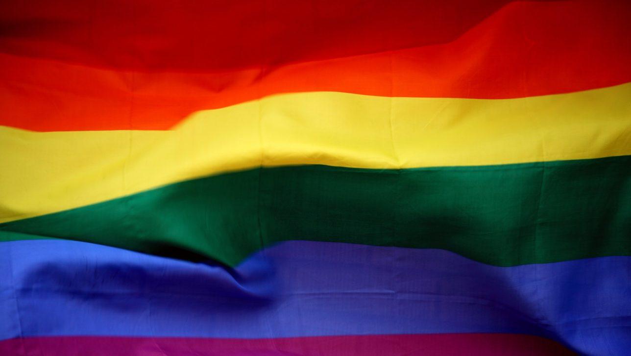 Pride flag representing the LGTBQ community