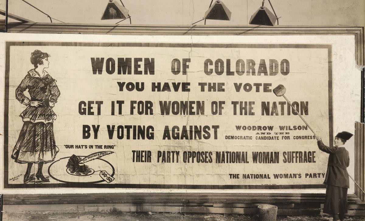 Colorado suffrage poster