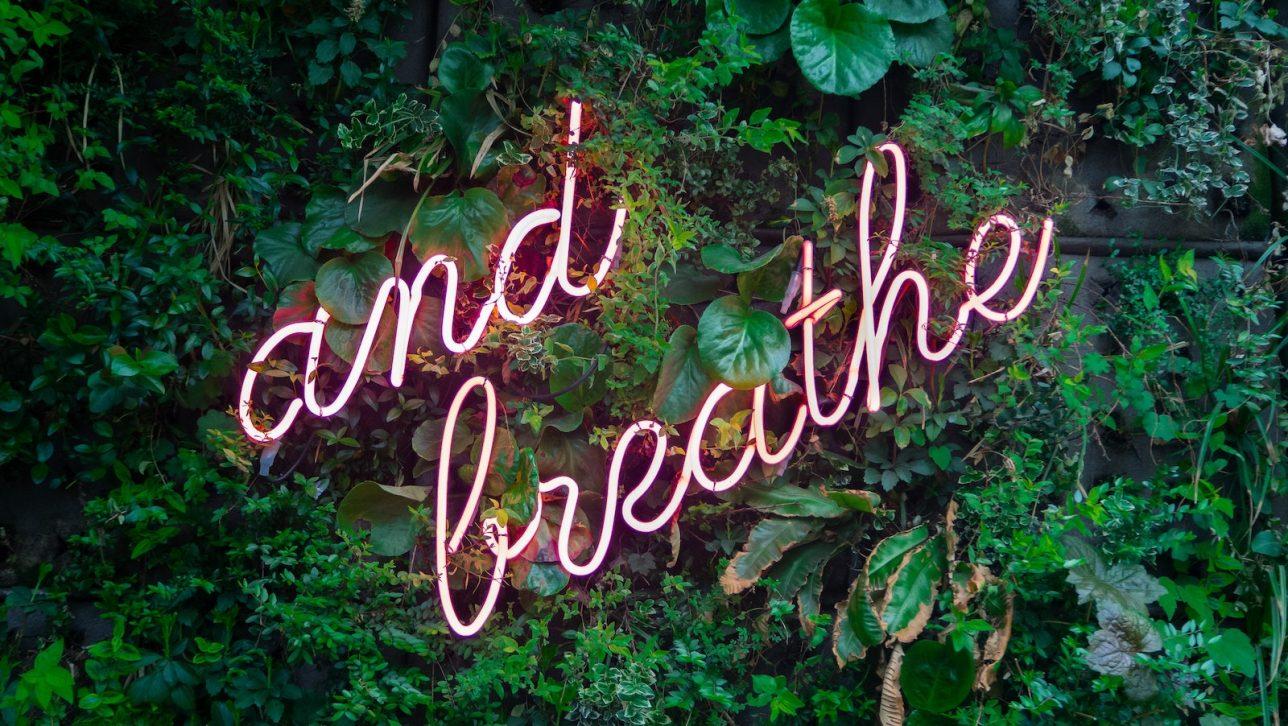 And breath graphic
