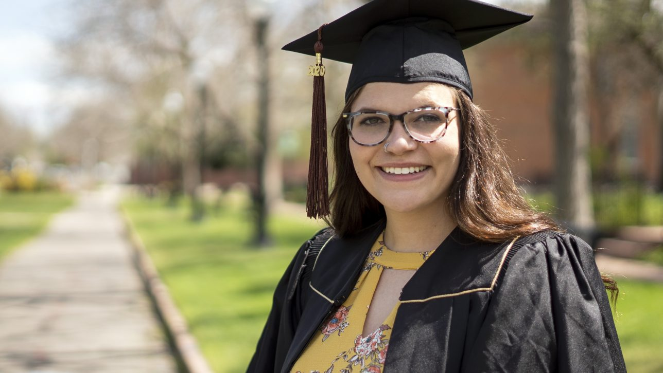 2020 graduate Katie Ramsay