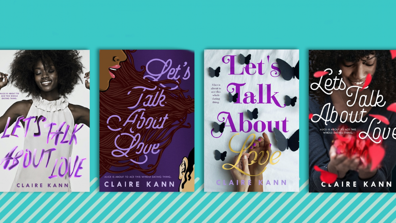 Let's Talk About Love book covers