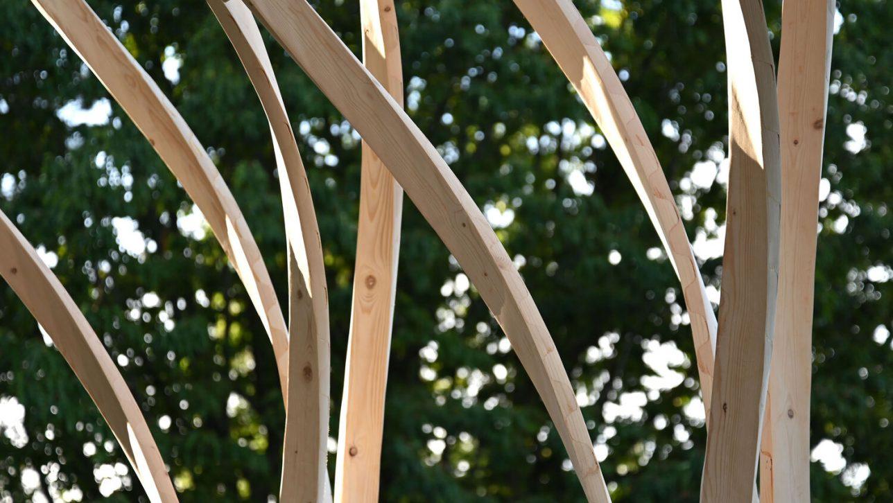 zippered wood