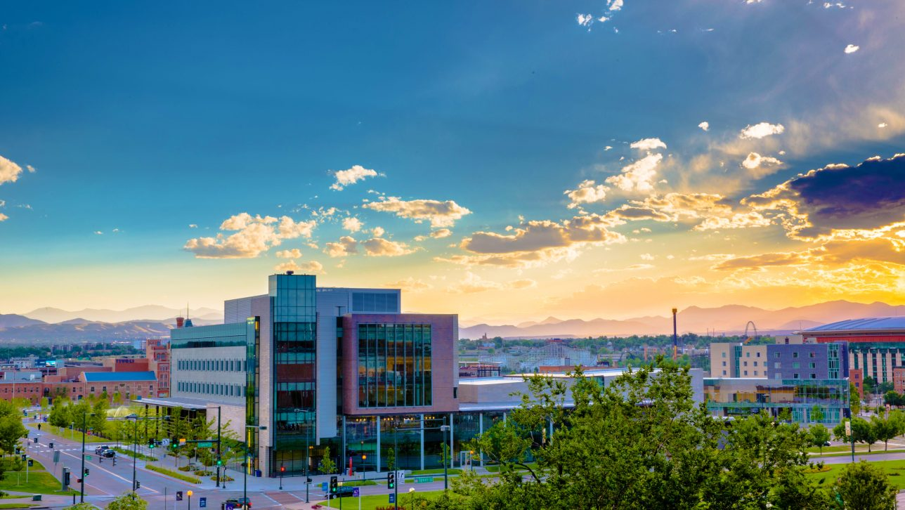 Image of CU Denver's Student Commons building