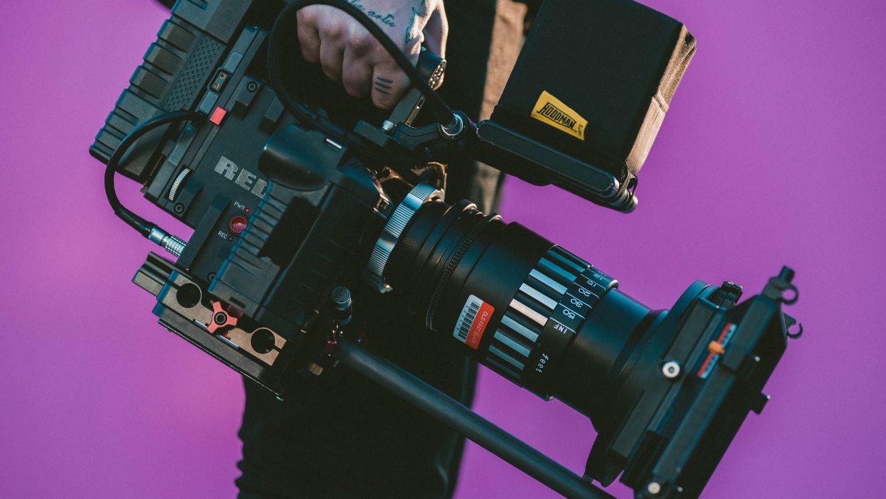 movie camera; photo by jakob owens via unsplash